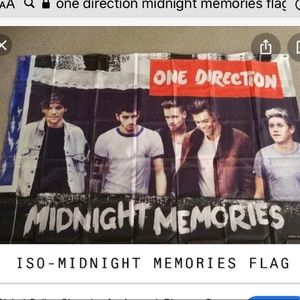 ISO-EITHER OF THESE ONE DIRECTION FLAGS